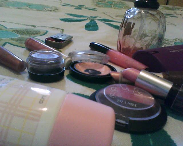 Primeiras maquiagens
