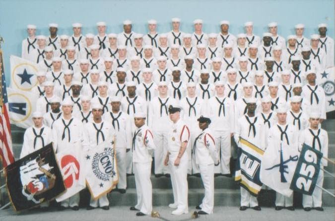 life in navy boot camp