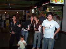 Despedida en Aeropuerto de Mendoza