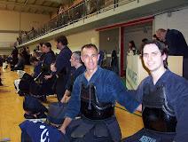 Stage de kendo Génova- Italia Nov.2007