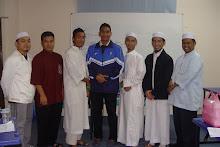 BMQ bersama FC KUIS dalam Taklimat program di KUIS Ogos 09