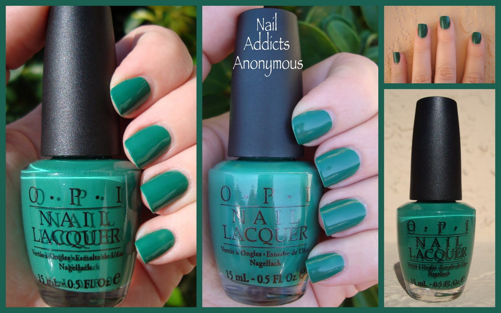 Nail Addicts Anonymous: NOTD/Swatch - OPI\'s Jade is the New Black