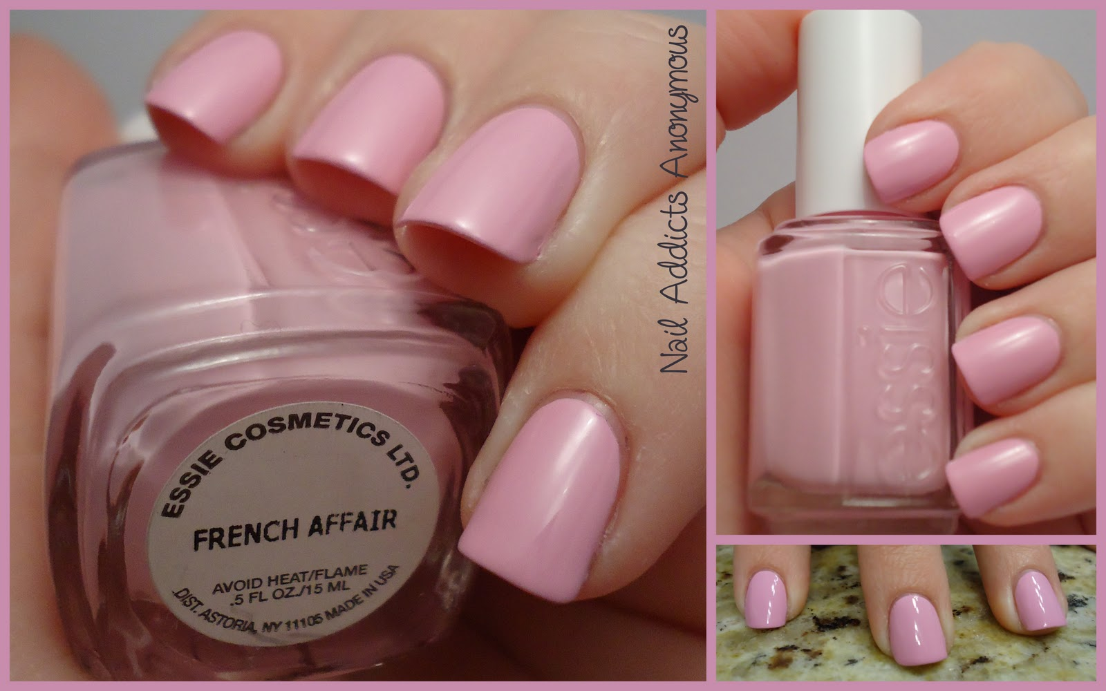 Nail Addicts Anonymous: Essie\'s French Affair (Spring 2011) Swatches ...
