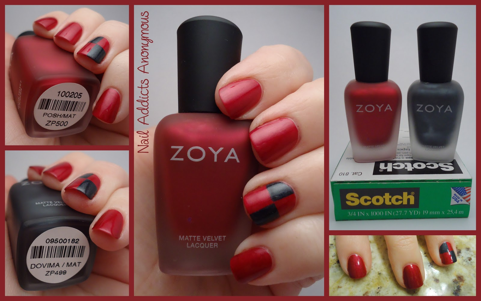 Nail Addicts Anonymous: NOTD: Let\'s Play Checkers!