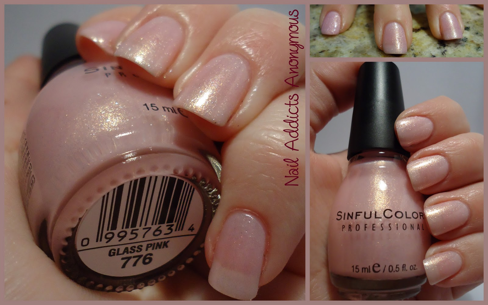 nail addicts anonymous sinful colors pretty in pink