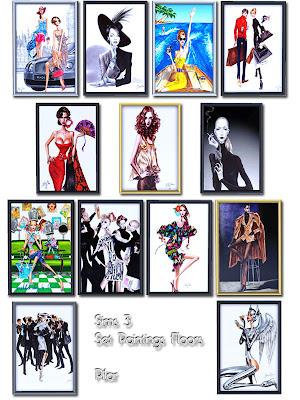 23-11-09 Big Paintings Floor