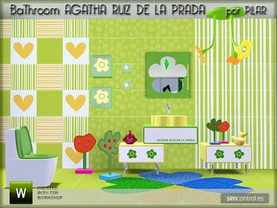 21-12-09 Bathroom Agatha Ruiz de la Prada