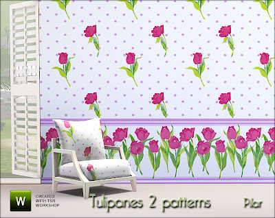 28-08-10  Patterns Tulipanes y Madera