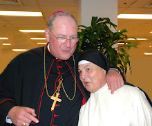 Archbishop Tim Dolan and Sr Pauline