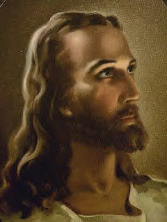 Kind God Jesus Christ looking into the sky free Christian religious photo