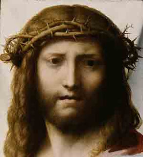 Jesus Christ with crown of Thorns on the Cross free Christian religious image download