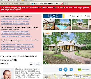 110 Homebush Road Sold recently