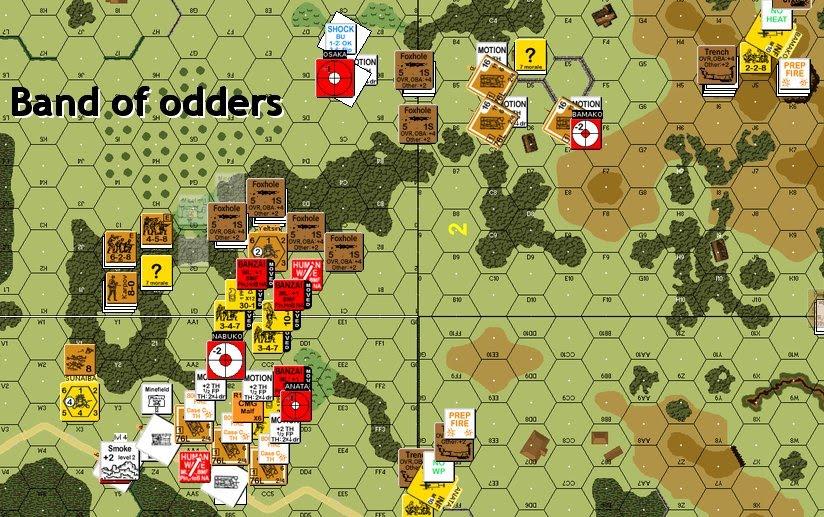 Jocs d'estratègia, jocs de taula - Band of Odders