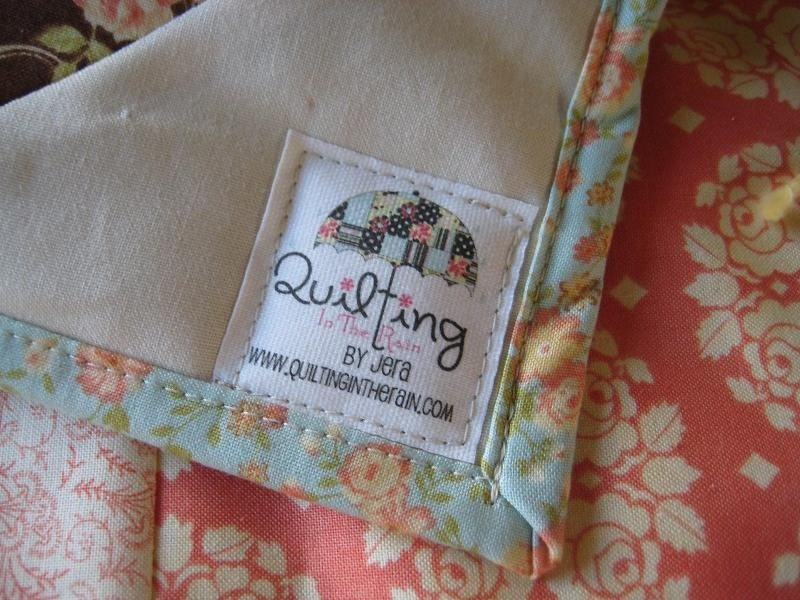 Custom Quilt Labels | Quilting in the Rain : personalized photo quilt - Adamdwight.com