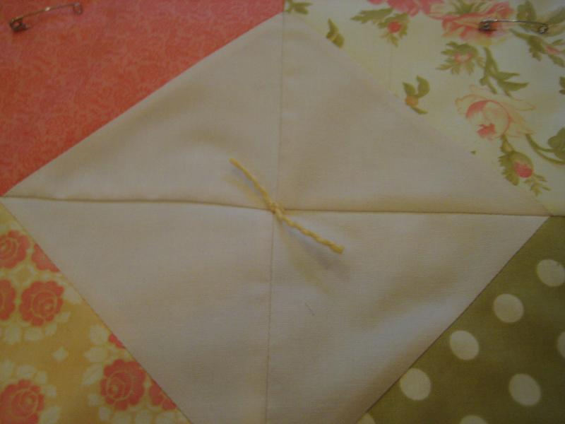 How to Tie a Quilt | Quilting in the Rain : quilting with yarn - Adamdwight.com