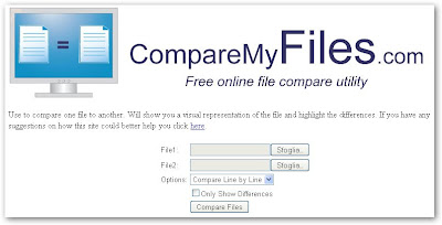 CompareMyFiles