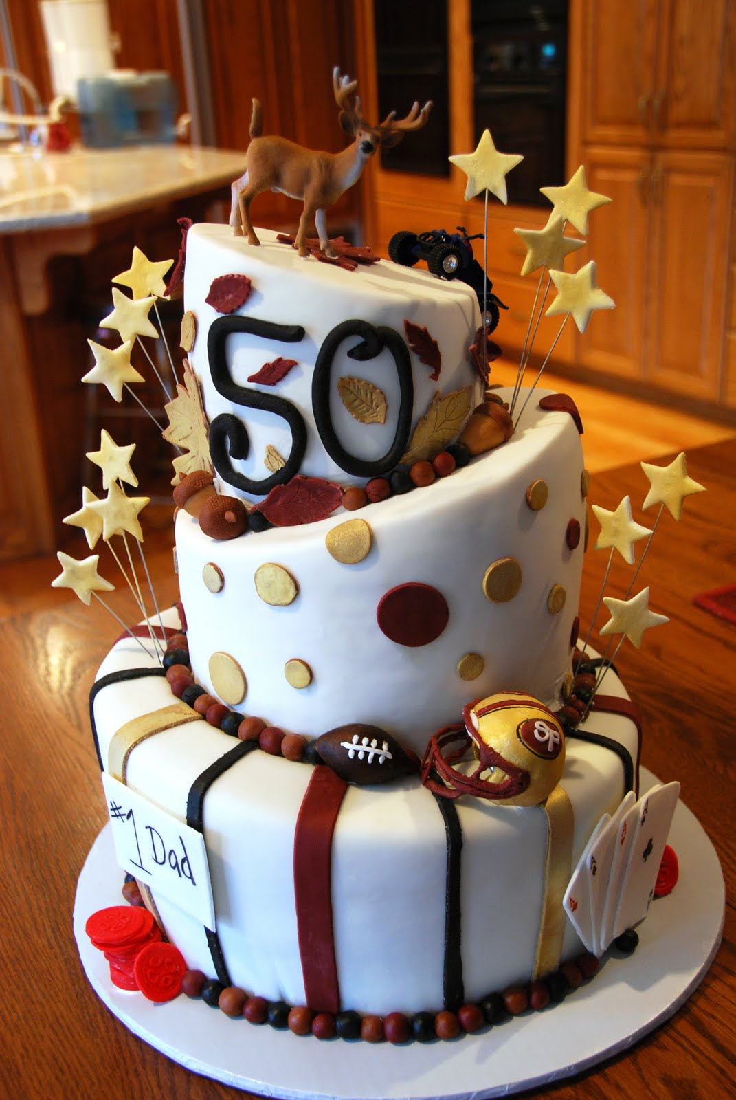 Images Of Cake For 50th Birthday : Cup-ee-Cakes: 50th Birthday Cake