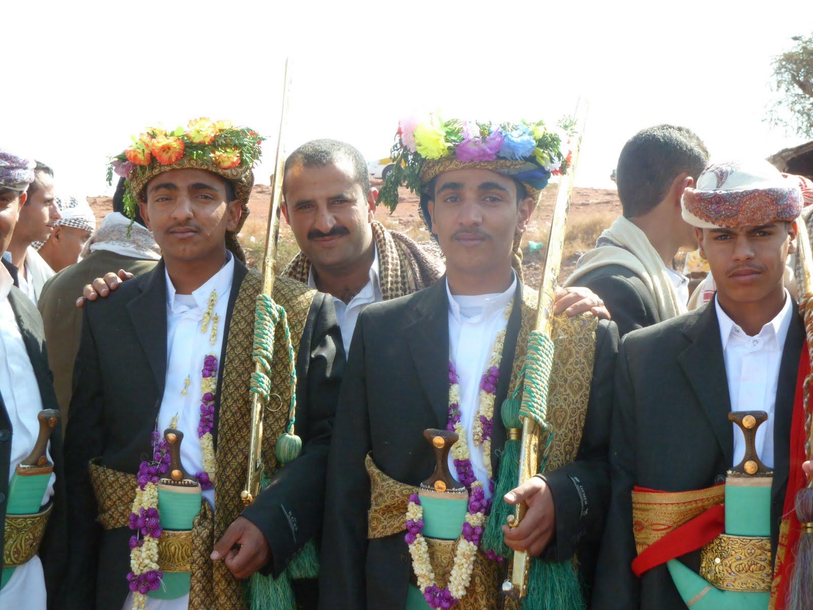 The Wanderer: Yemeni weddingmens celebration