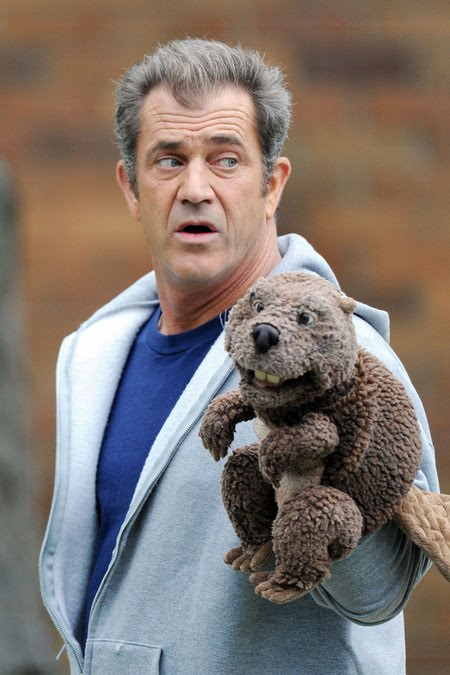 mel gibson beaver puppet. In it, Gibson plays the lead