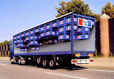 Camión Pepsi