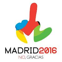 Madrid 2016 No gracias