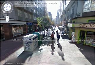Google street view coruña
