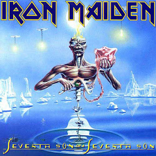 Portada Iron Maiden seventh son of a seven son