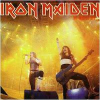 Portada Iron Maiden runing free live