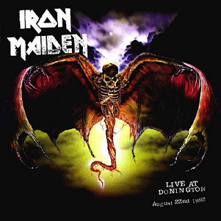 Portada Iron Maiden live at donington