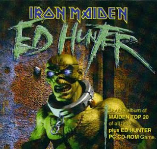 Portada Iron Maiden hunter
