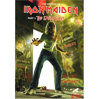 Portada Iron Maiden the early days