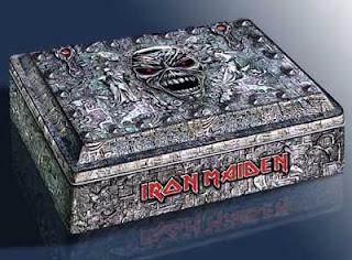 Portada Iron Maiden eddie's archive