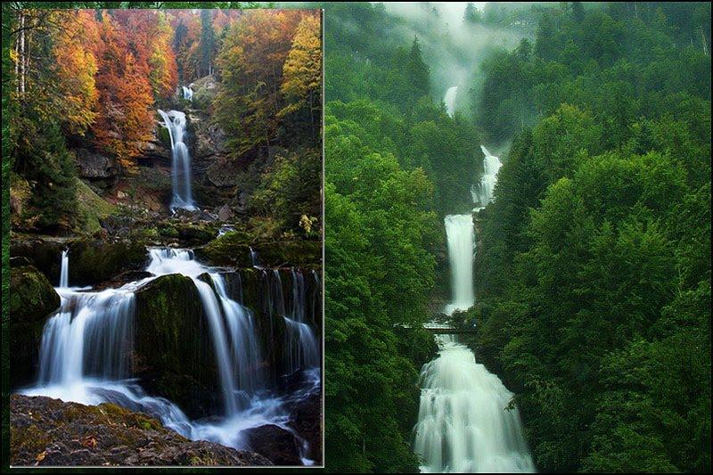 Gambar air terjun - 10 paling cantik di dunia