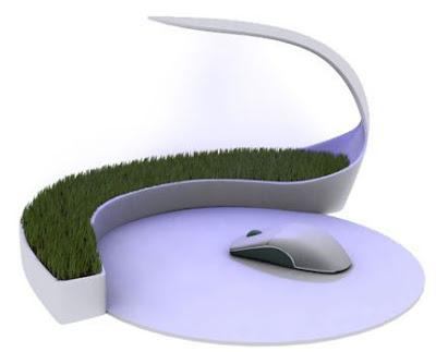 mouse pad rumput