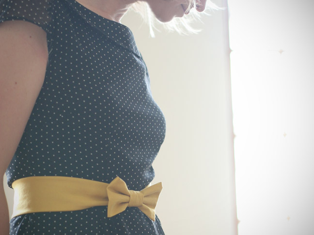 Diy Fabric Bow Belt