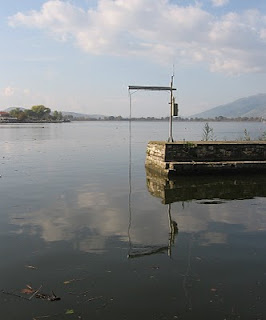 measuring instrument and its reflection on water