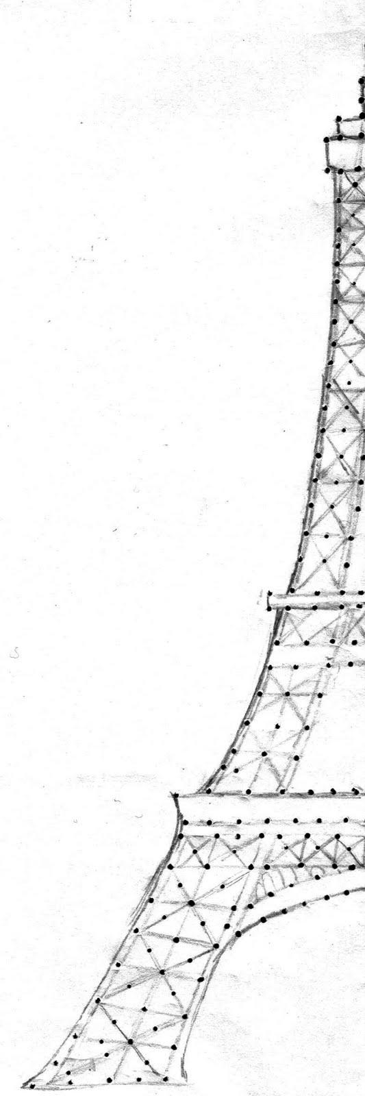 eiffel tower drawing patterns patterns kid