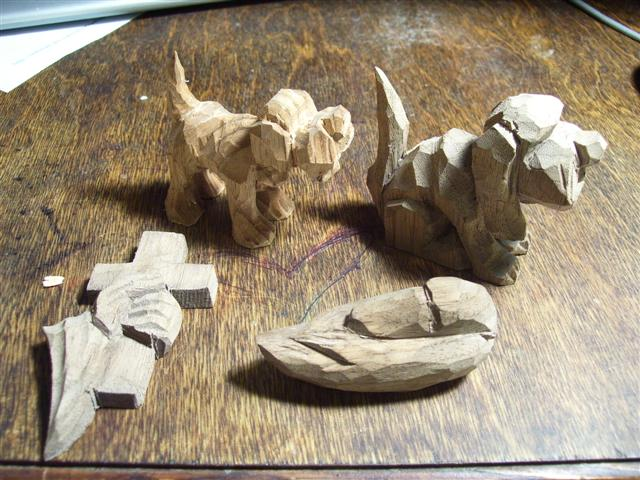 Easy Whittling Projects http://whittlingwood.blogspot.com/