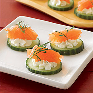 Resep masakan northwest salmon canap s for Resep canape kontinental