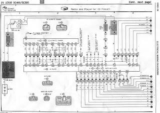 Lexus Sc400 Wiring Diagram. Lexus. Wiring Diagrams Collection