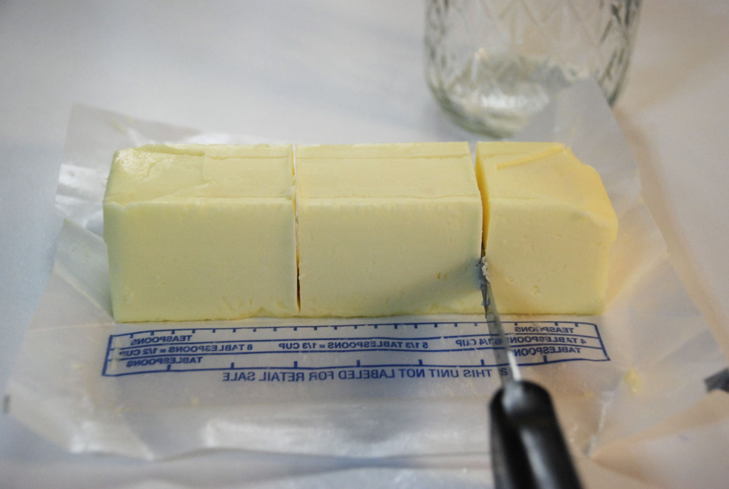 Teresa tronier photography butter in your food storage for 8 tablespoons of butter