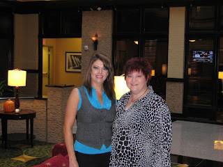 Karen and I at the hotel