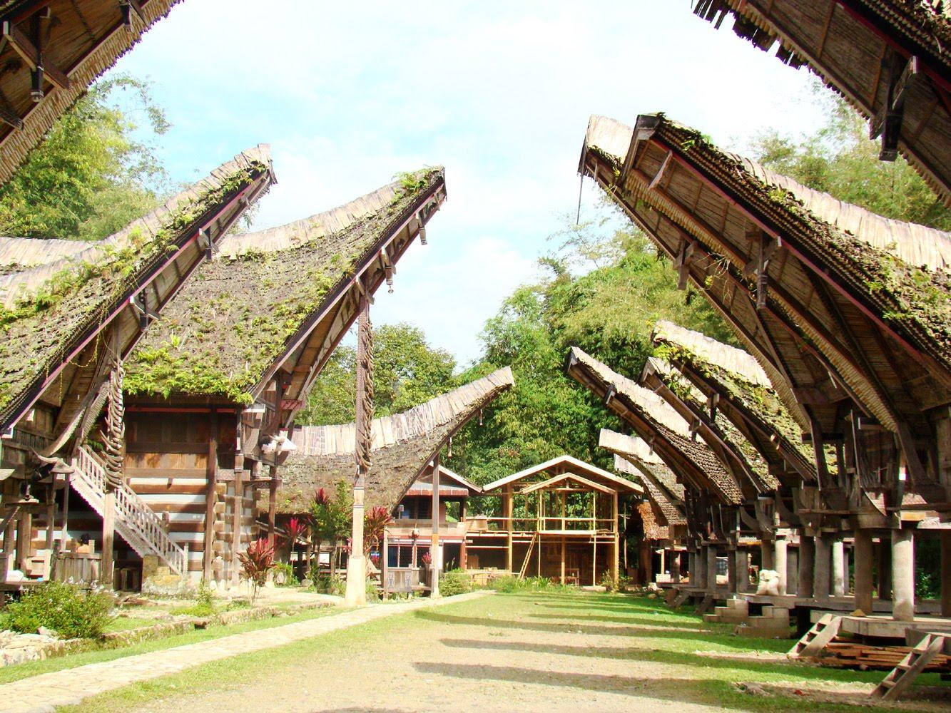 Download this Rumah Tongkonan Tana Toraja picture