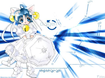 Digi Charat Cartoon Wallpaper