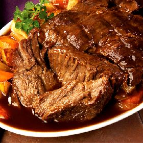 When the Dinner Bell Rings: Best Danged Beef Pot Roast ~ Crock Pot