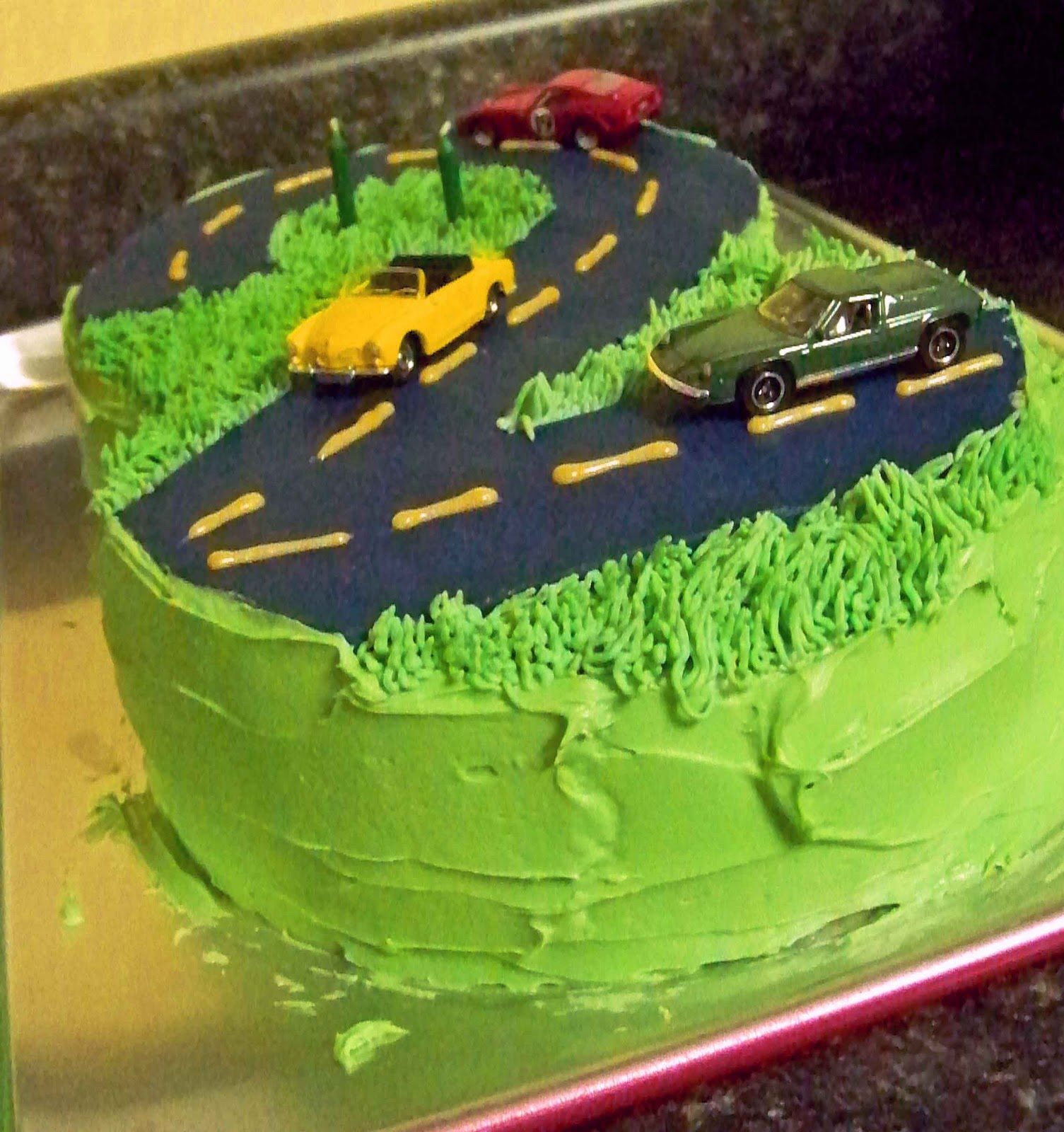 Images Of Cake Of Car : WhimsiKel: Lincoln s Car Cake