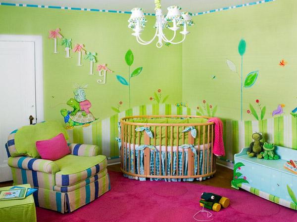 Тоже пошарилась по интернету в поисках хороших идей для детской комнаты.