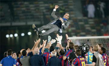 يفوز بجايءزة افضل مدرب لعام 2009