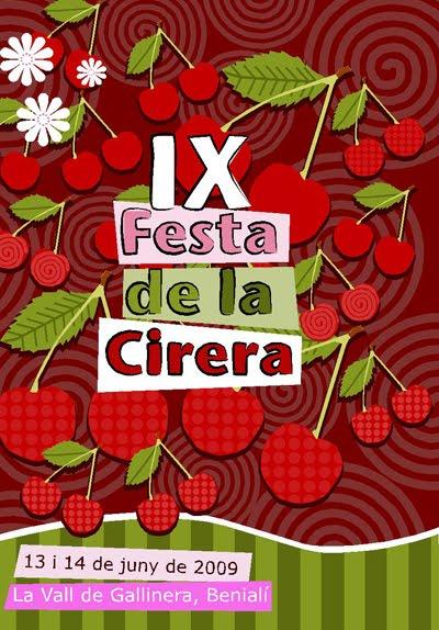 IX Festa de la Cirera, en La Vall de Gallinera, Benialí