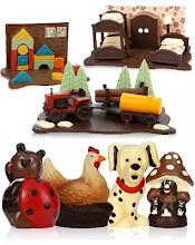 Figuras de Chocolate...